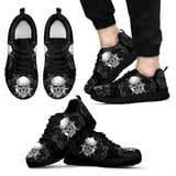 Smiling Skull Sneakers - Skull Obsession