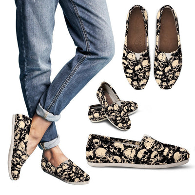 Skull Obsession Punk Dark Skull Casual shoes