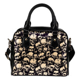 Skull Obsession Punk Dark Skull Handbag