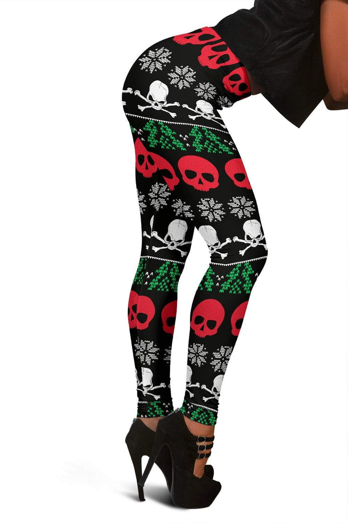 Skull Obsession R&B UGLY CHRISTMAS Leggins