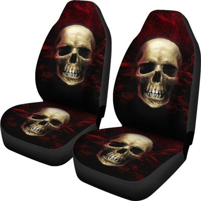Skull Obsession Red Angry Skull