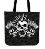 Skull Obsession Triple Punk Skull Tote Bag