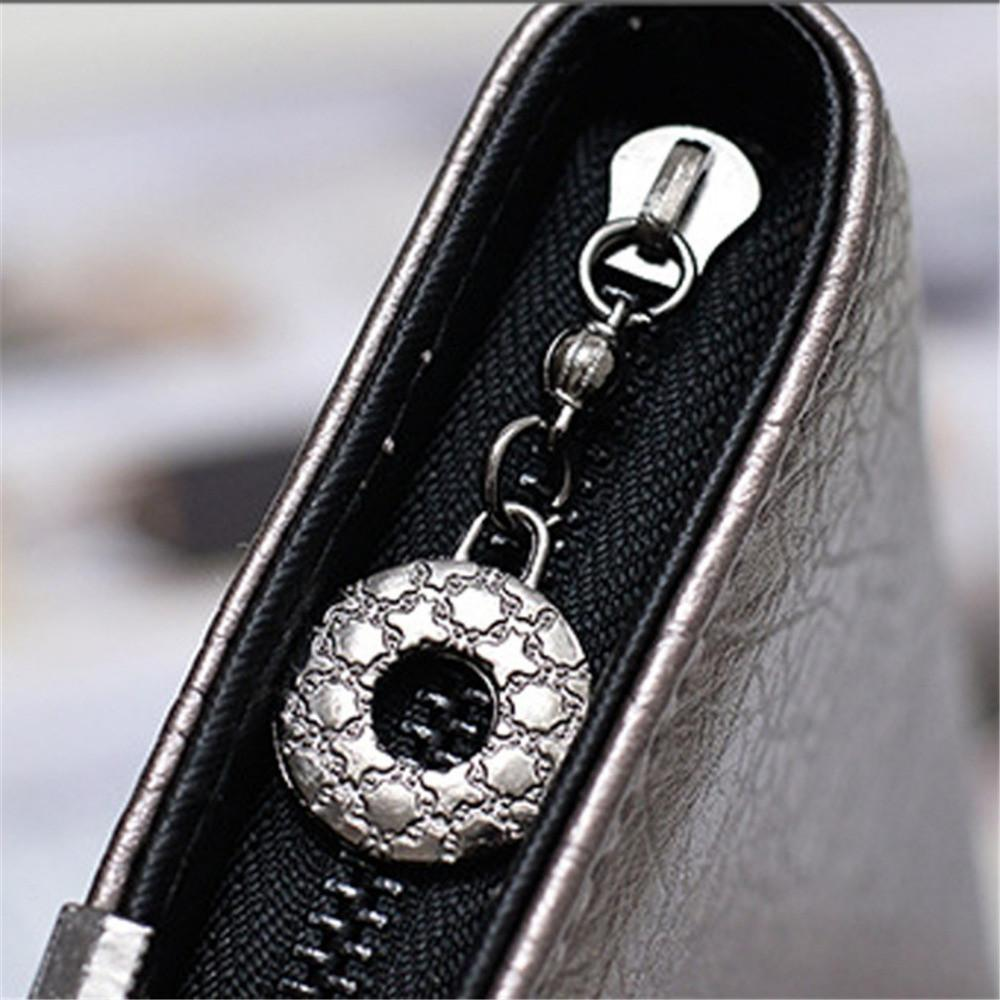 Skull Obsession Wallets Skull Leather Long Wallet