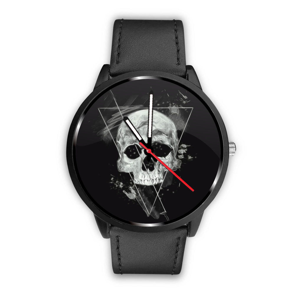 Skull Obsession Watch Mens 40mm / Black Triangle Skull Watch