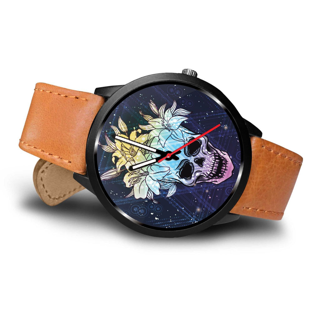 Skull Obsession Watch Skull & Lily Blue Watch
