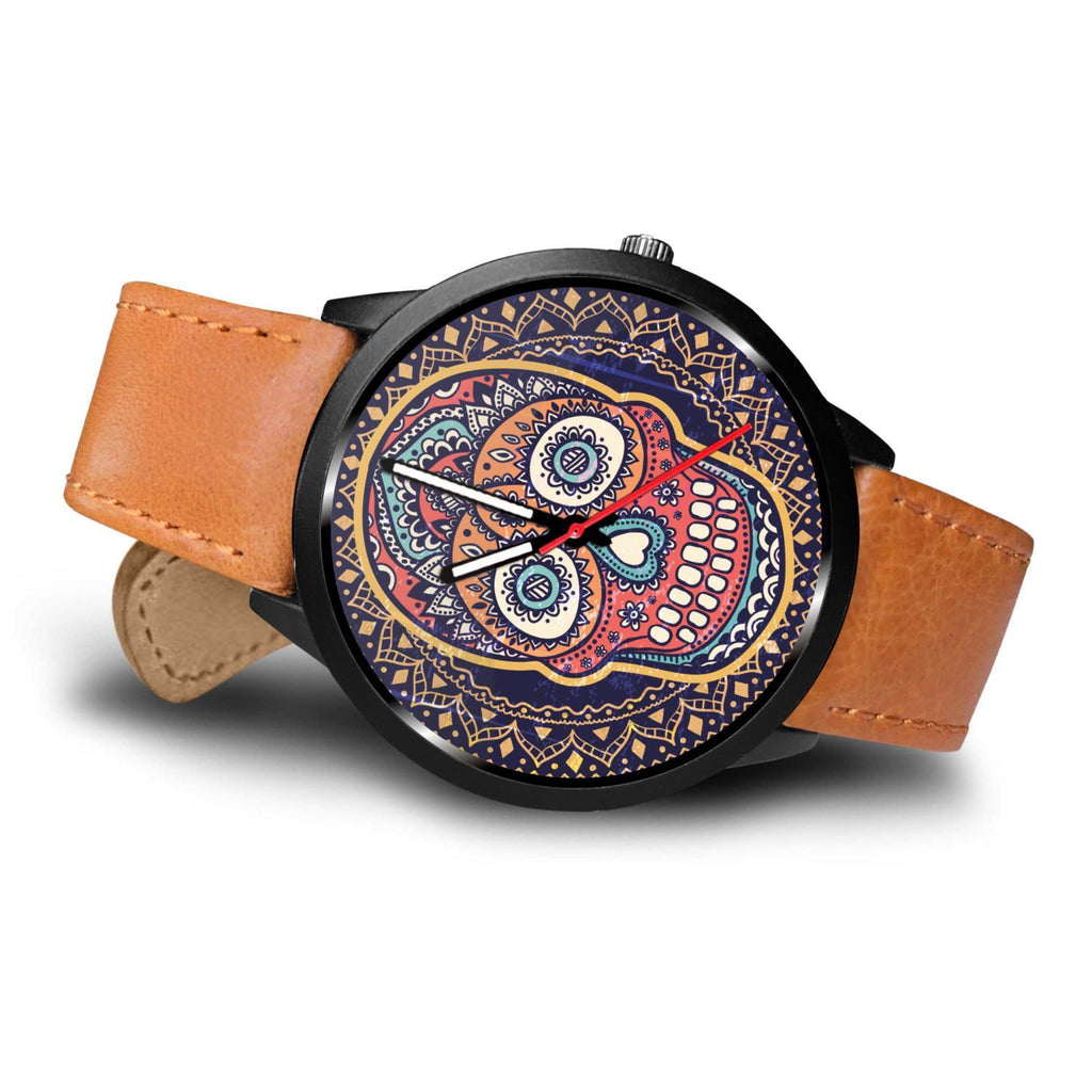 Skull Obsession Watch Vintage Colored Skull Watch