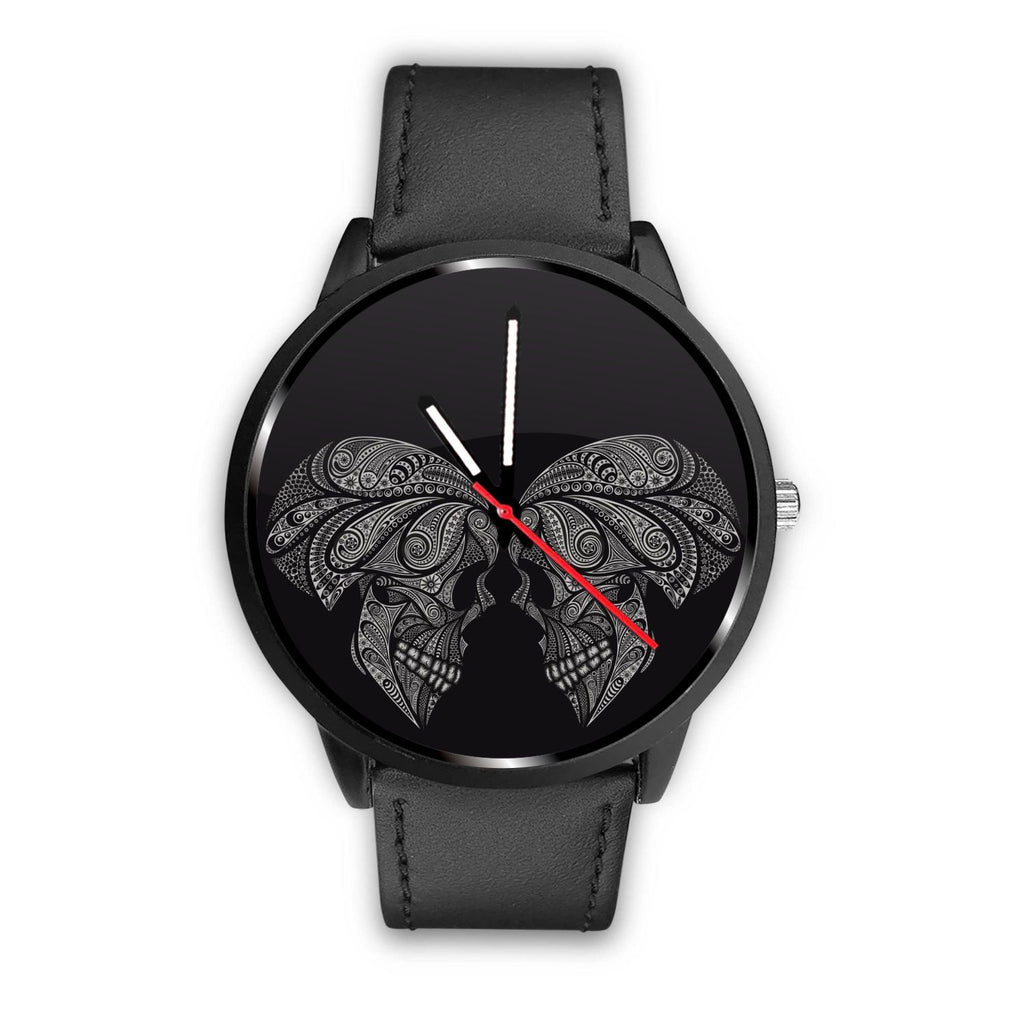 wc-fulfillment Watch Mens 40mm / Black Couple Skull Watch