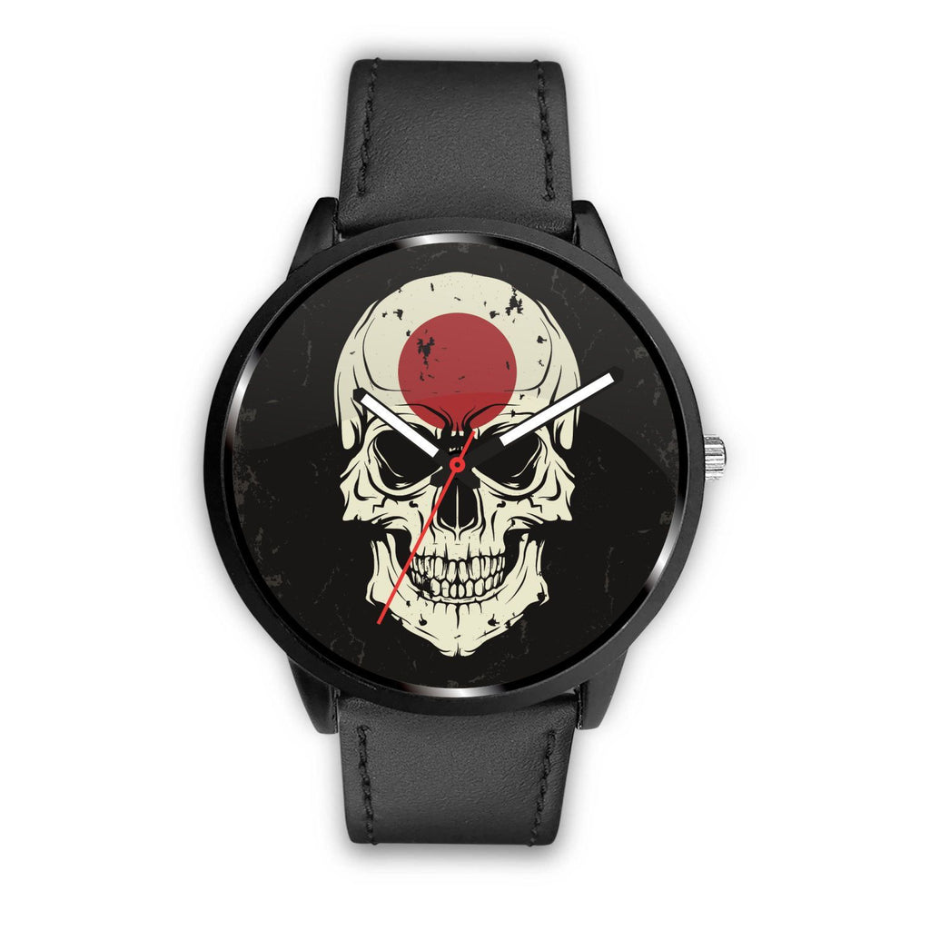 wc-fulfillment Watch Mens 40mm / Black JAPANESE SKULL WATCH