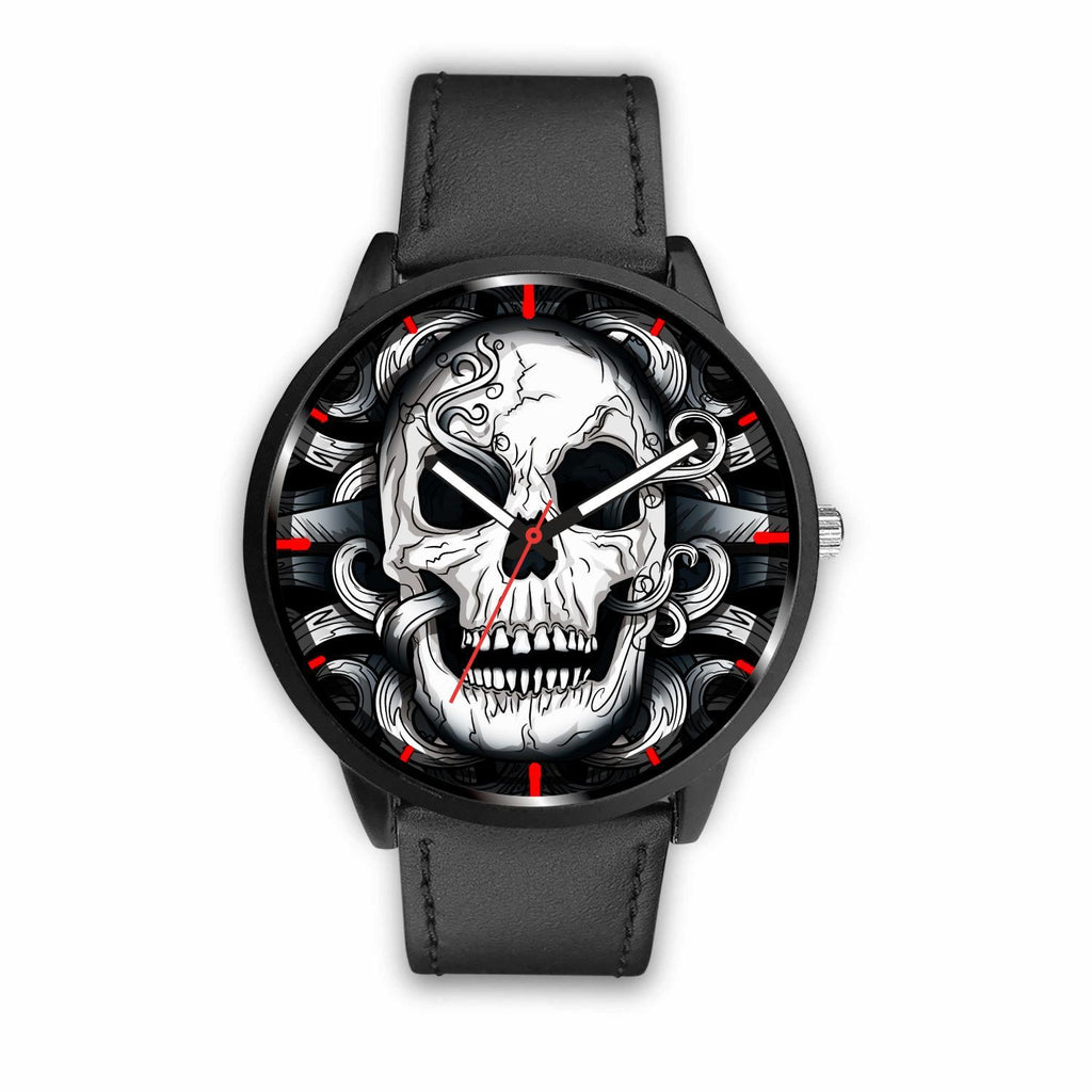 wc-fulfillment Watch Mens 40mm / Black Punk Dark Skull Watch
