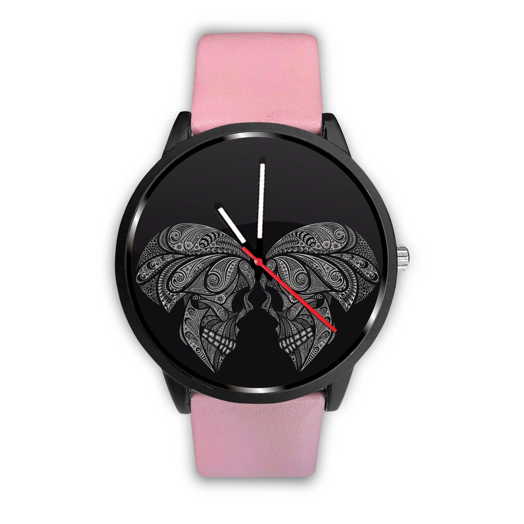 wc-fulfillment Watch Mens 40mm / Pink Couple Skull Watch