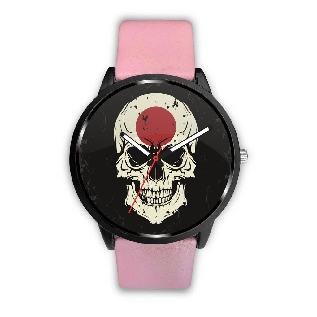 wc-fulfillment Watch Mens 40mm / Pink JAPANESE SKULL WATCH