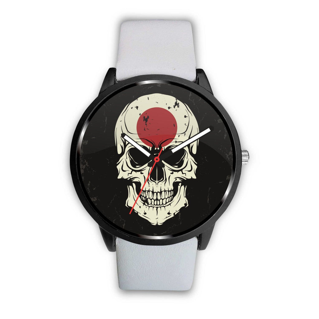 wc-fulfillment Watch Mens 40mm / White JAPANESE SKULL WATCH