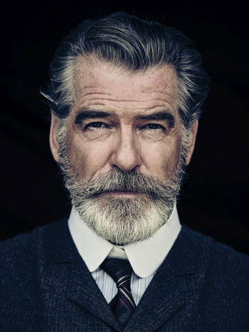 Pierce Brosnan Beard