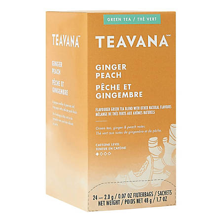 Teavana Ginger Peach 24 Tea Bags