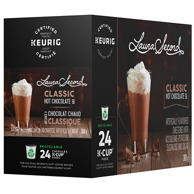 Laura Secord Hot Chocolate 24CT