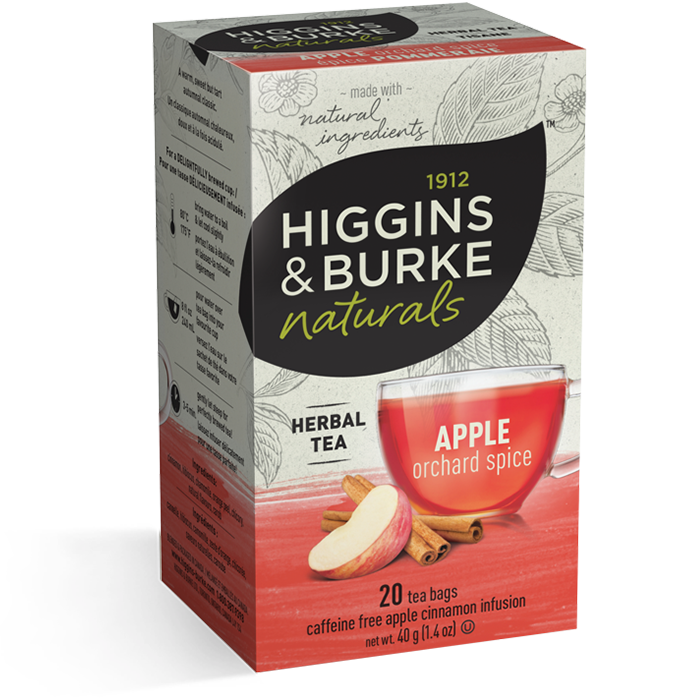Higgins & Burke Apple Orchard Spice Herbal Tea 20's