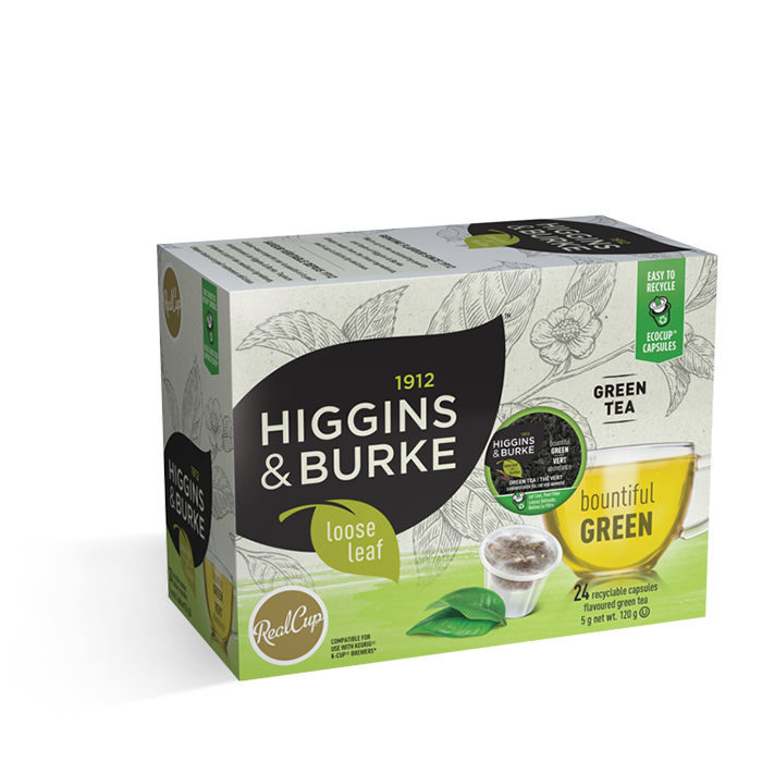 Higgins & Burke Loose Leaf Bountiful Green 24CT