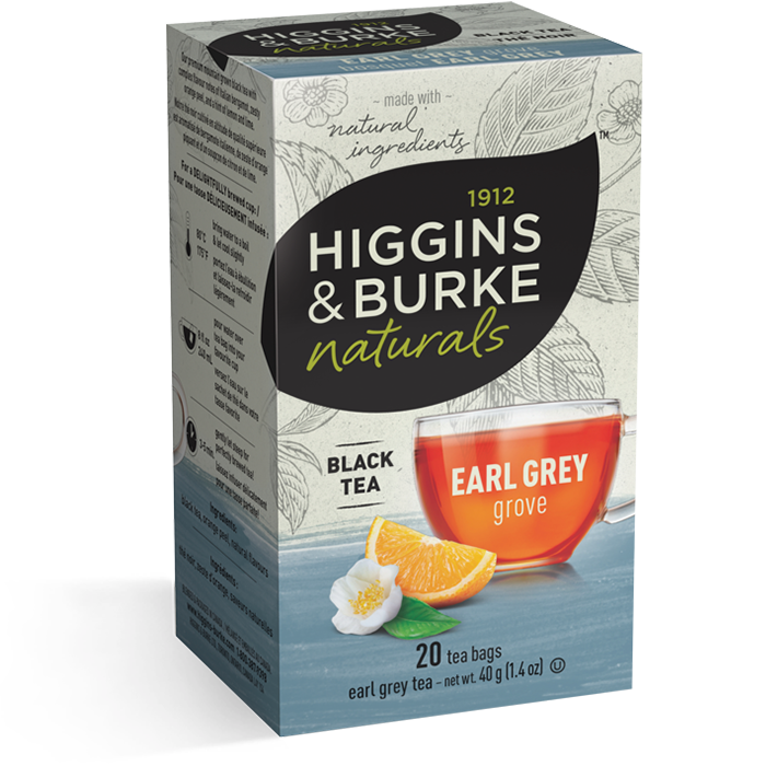 Higgins & Burke Earl Grey Grove Black Tea 20's