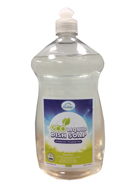 Green Dolphin Eco Dish Soap 800ml Bottle