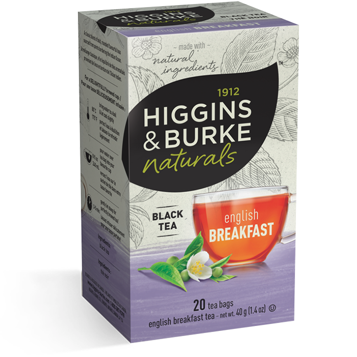 Higgins & Burke English Breakfast Black Tea 20's