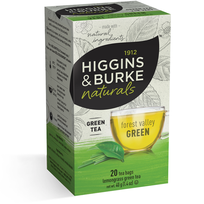 Higgins & Burke Forest Valley Green Tea 20's
