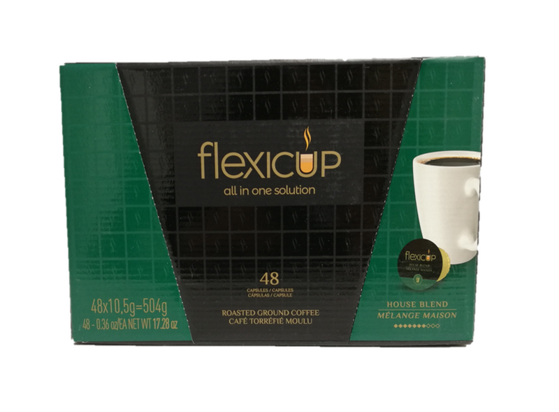 Flexicup House Blend Coffee Capsules 48CT