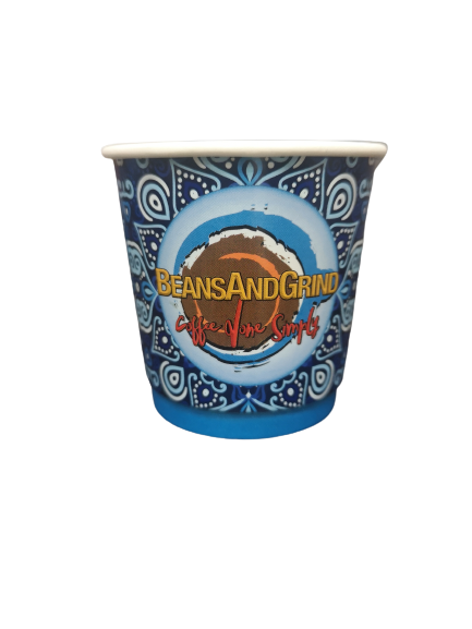 Double-Wall Paper Cups 10oz - 25 ct