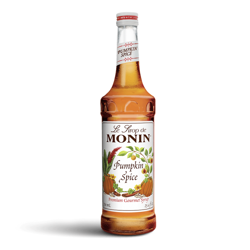 Monin Pumpkin Spice Syrup 750ml, With Pump