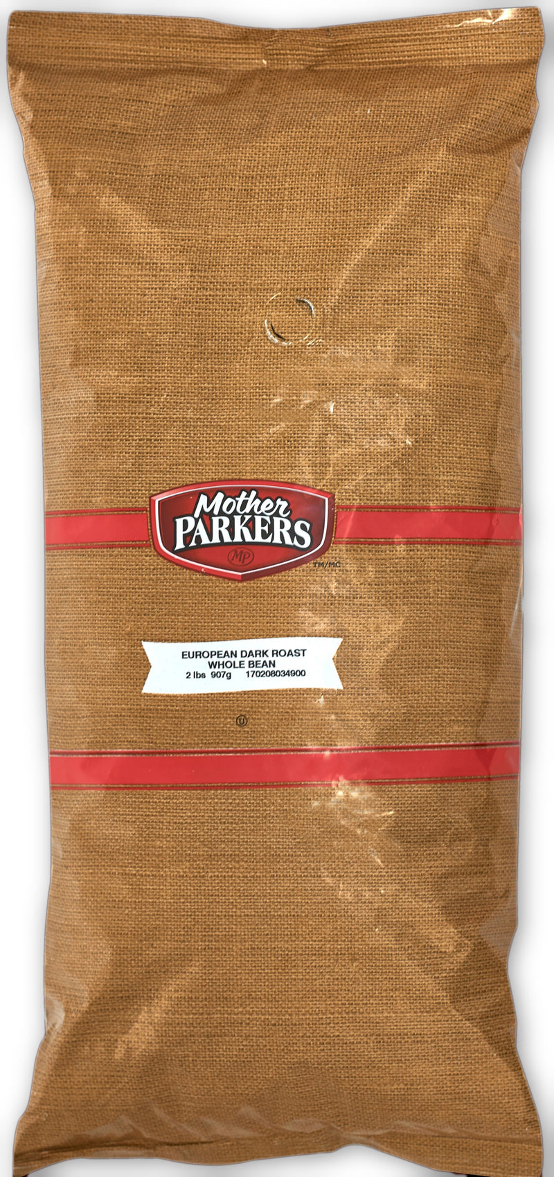 Mother Parkers European Dark Whole Bean 2lbs