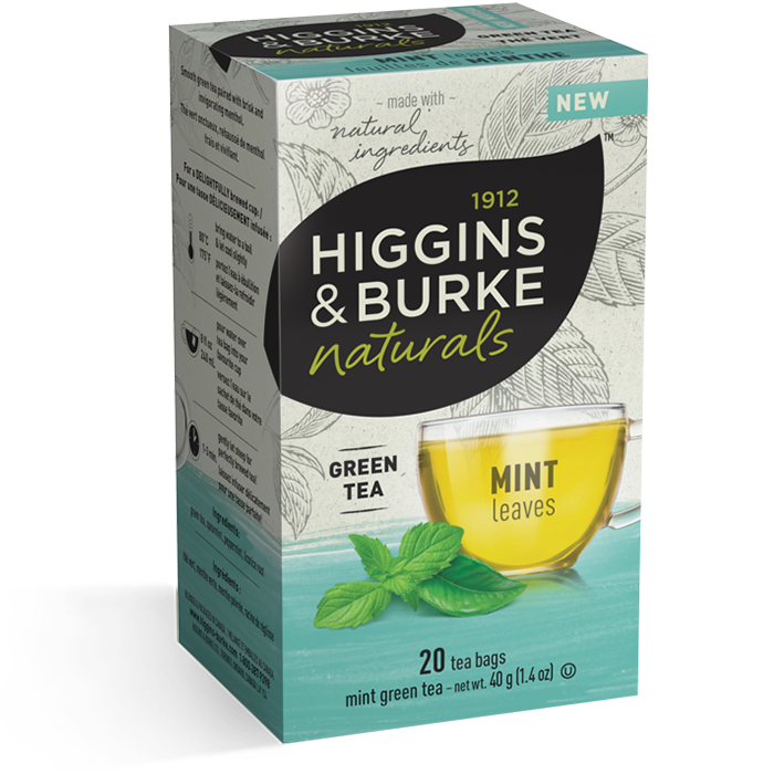 Higgins & Burke Mint Leaves Green Tea 20's