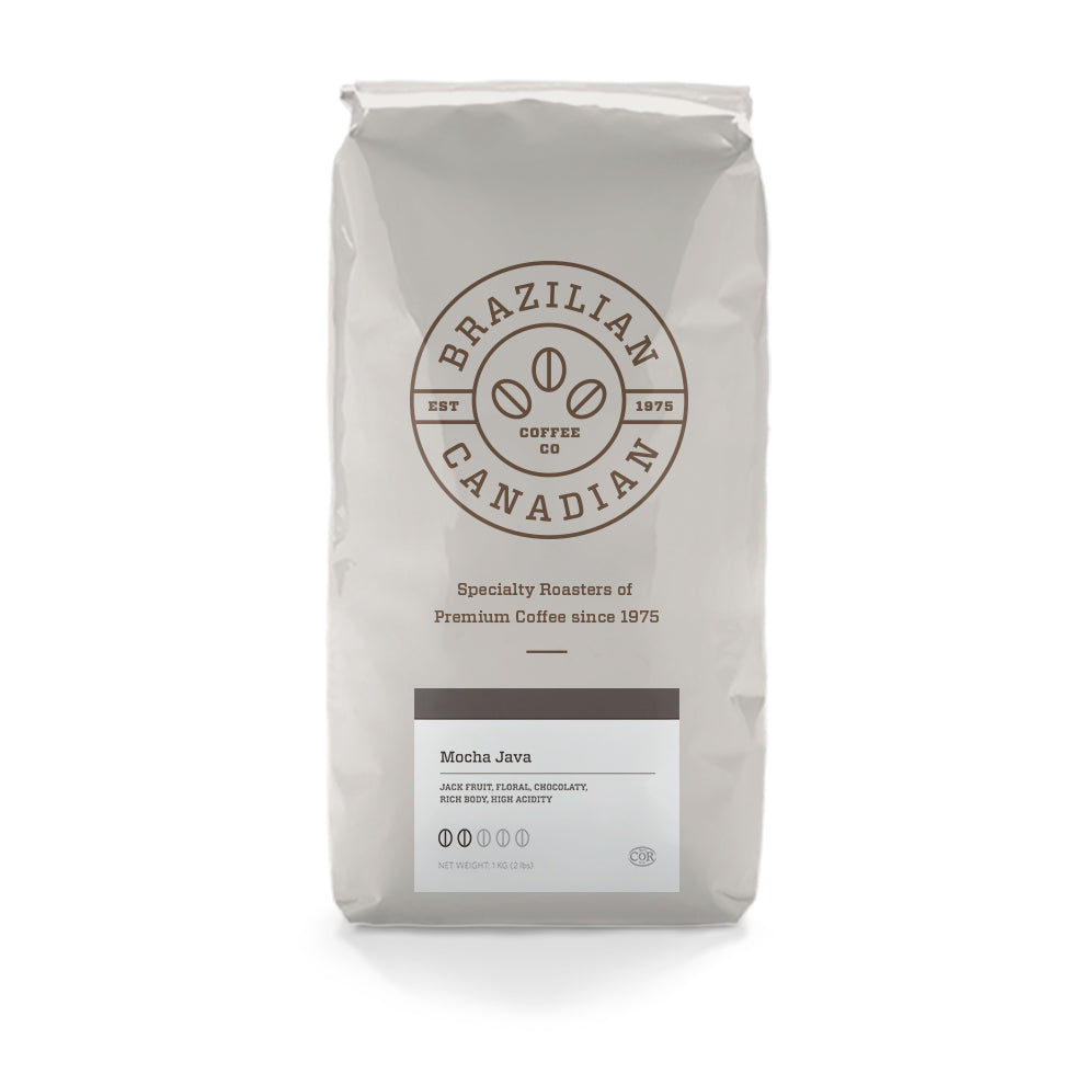 Brazilian Mocha Java Whole Bean 2LBS