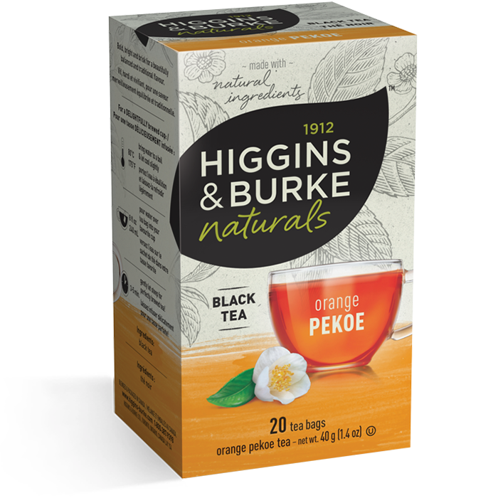 Higgins & Burke Orange Pekoe Black Tea 20's