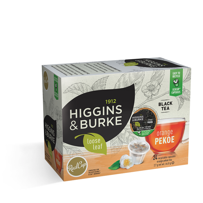 Higgins & Burke Loose Leaf Orange Pekoe 24 CT