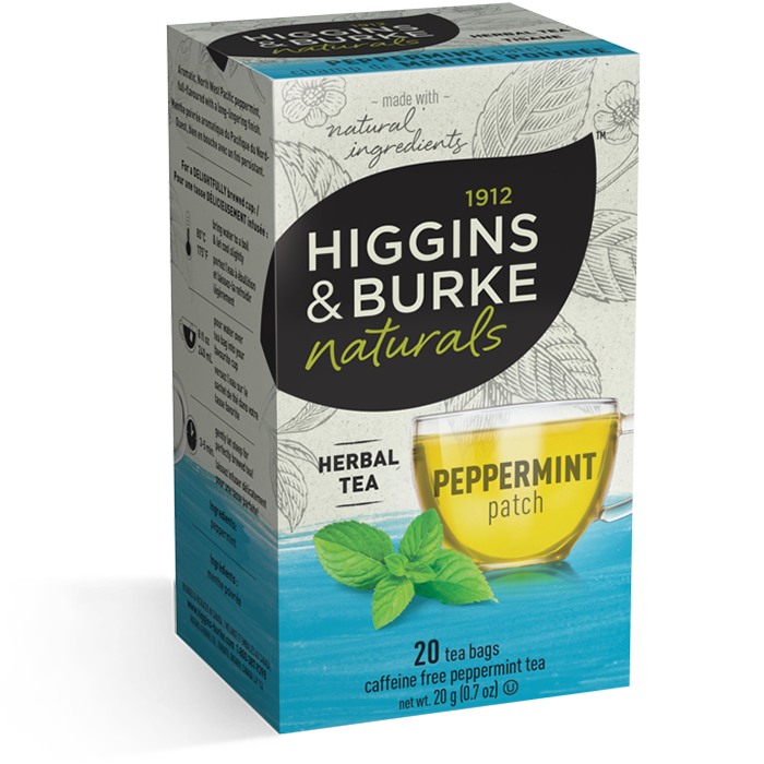 Higgins & Burke Peppermint Patch Herbal Tea 20's