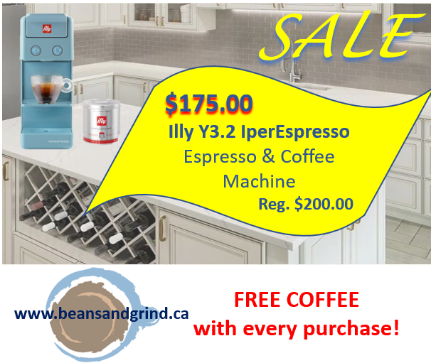 Illy Y3.2 IperEspresso Espresso & Coffee Machine