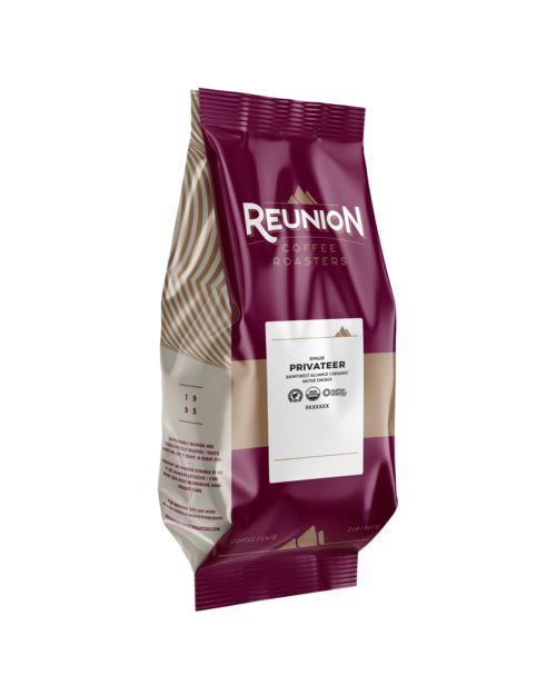 Reunion Privateer Dark Whole Bean 2lbs