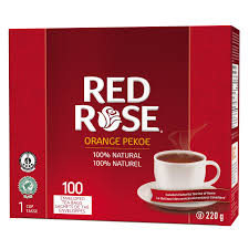 Red Rose Orange Pekoe Tea 100 Count