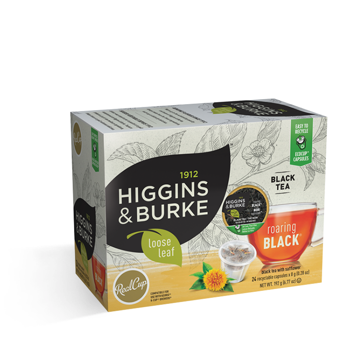 Higgins & Burke Loose Leaf Roaring Black 24CT