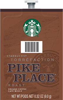 Flavia Starbucks Pike Place Roast - Medium 80ct