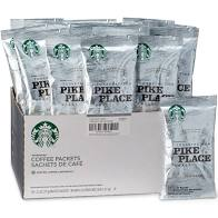 Starbucks Pike Place Ground Portion Packs 18 X 2.5 OZ