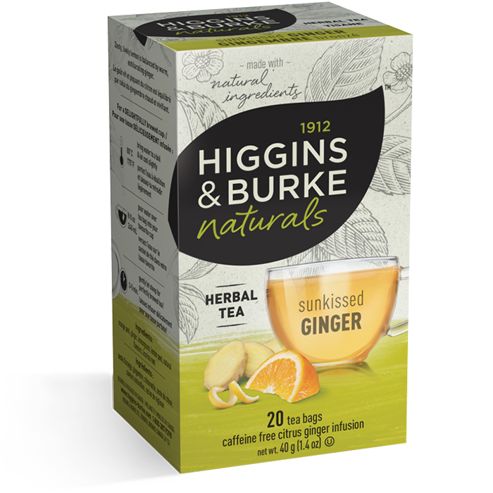 Higgins & Burke Sunkissed Ginger Herbal Tea 20's