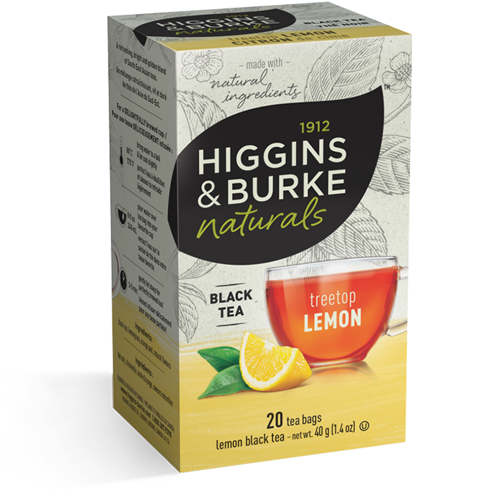 Higgins & Burke Treetop Lemon Black Tea 20's