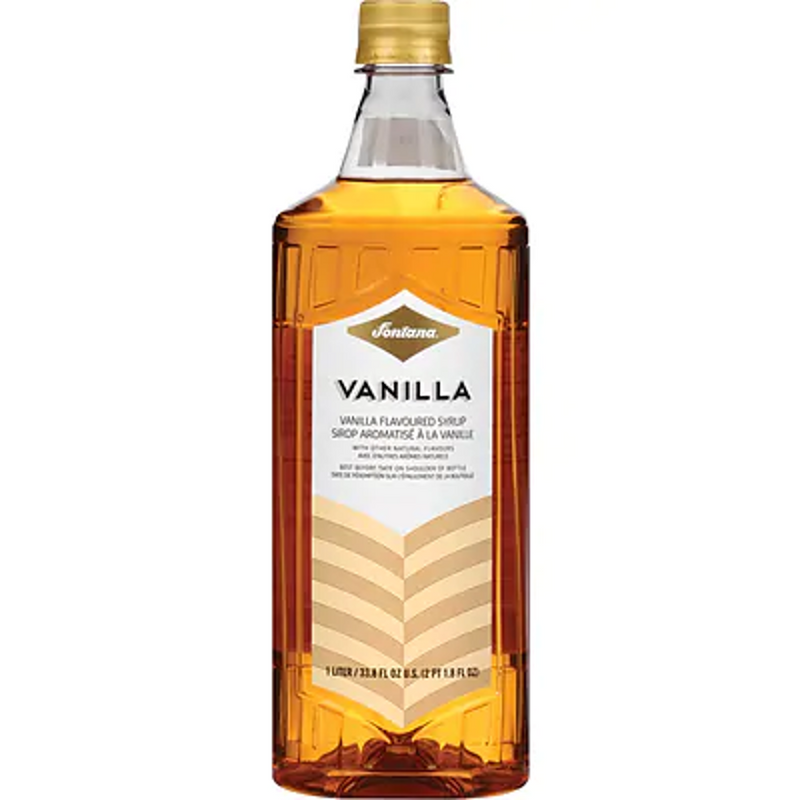 Fontana Vanilla Syrup 1L, With Pump