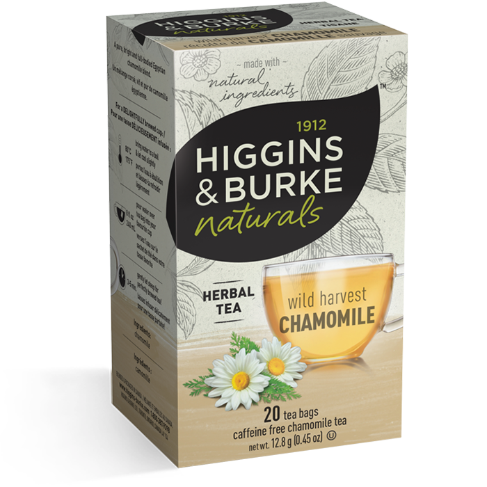 Higgins & Burke Wild Harvest Chamomile Herbal Tea 20's