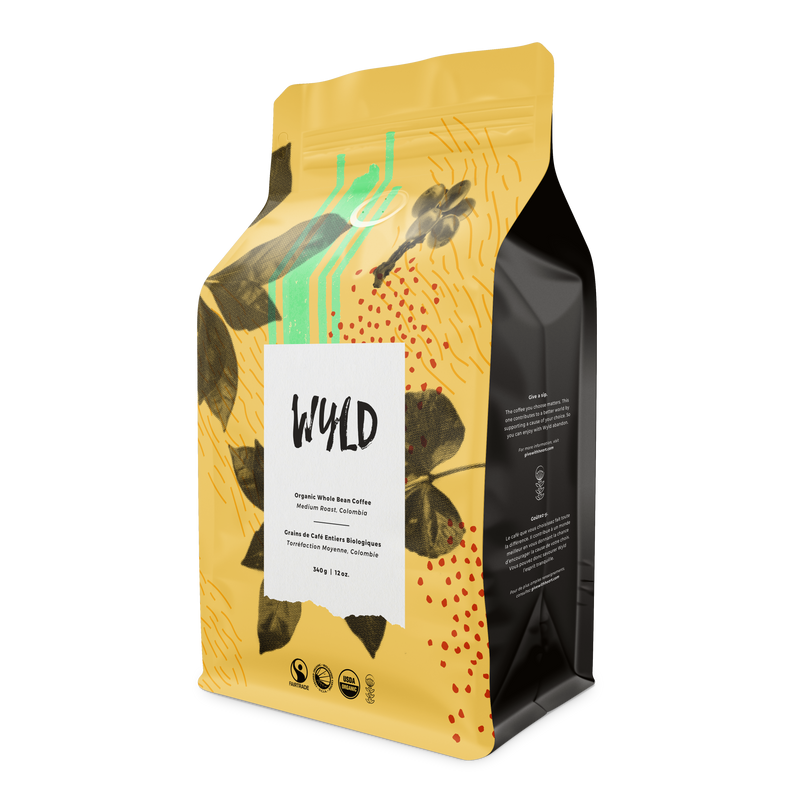Wyld Colombia-Medium Whole Bean 1lb - FTO