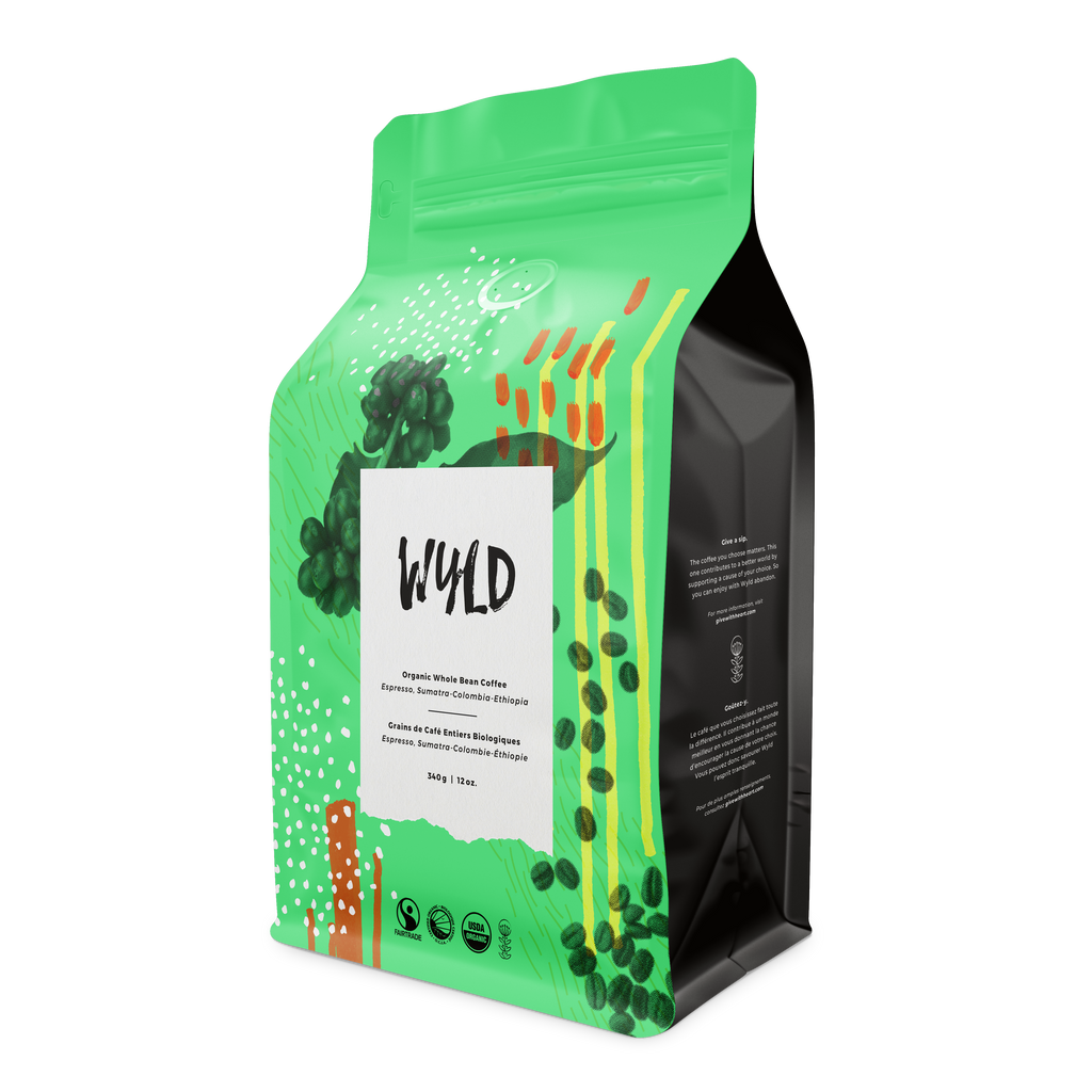 Wyld Espresso Whole Bean 1lb - FTO