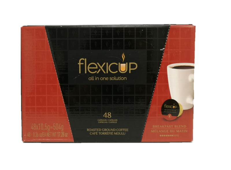 Flexicup Breakfast Blend Coffee Capsules 48CT