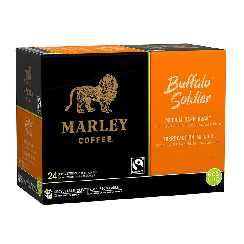 Marley Buffalo Soldier Eco Cup 24CT