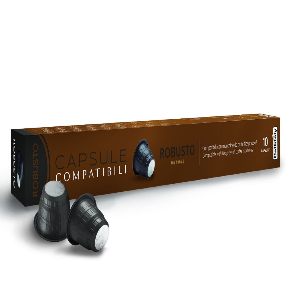 Caffitaly Robusto Nespresso Compatible Capsules