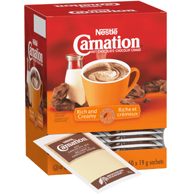 Nestle Carnation Rich and Creamy Hot Chocolate 50 X 19g